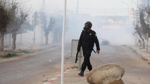 Depuis lundi, le pays est secoué par un mouvement social hostile aux mesures d'austérité prises par le gouvernement à Tunis.