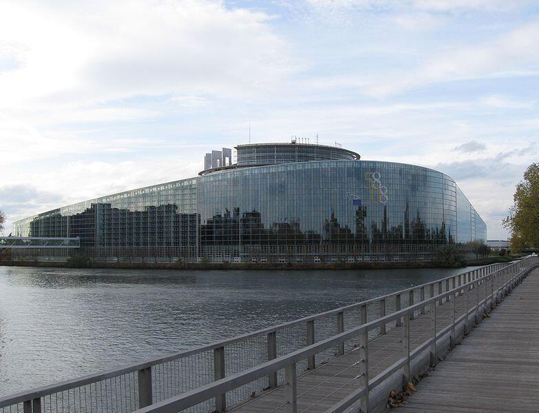 Nghị viện Châu Âu ở Strasbourg, Pháp
