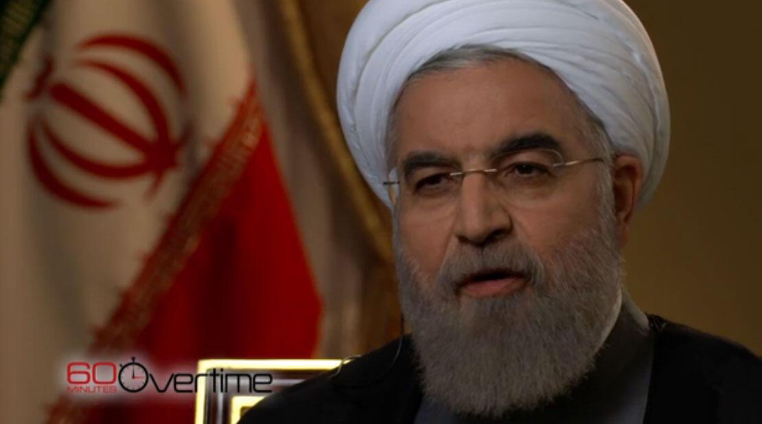 Le président iranien Hassan Rohani, le dimanche 20 septembre 2015.