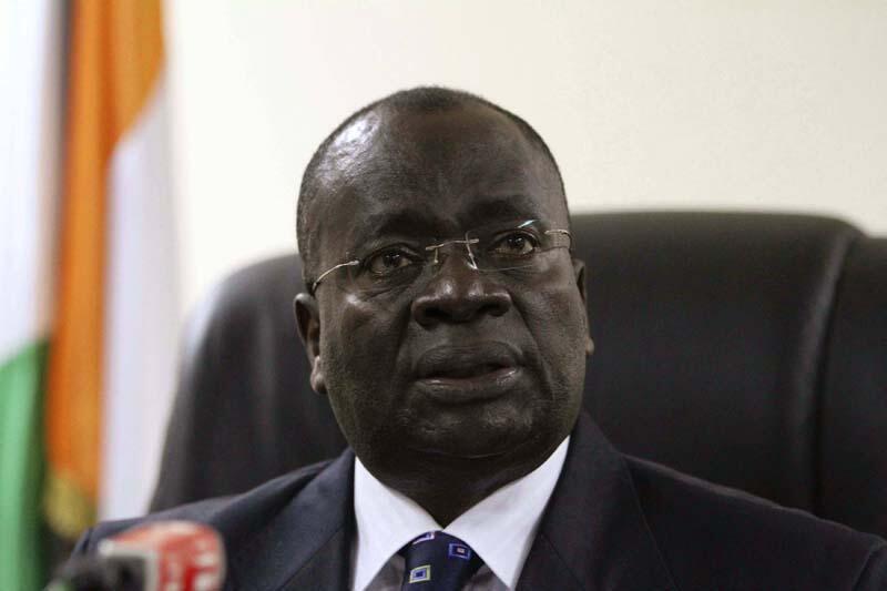Shugaban Kotun Tsarin Mulki na  kasar Ivory Coast Paul Yao N'Dre