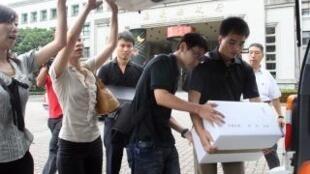 台湾抓贪大举搜索嘉义县政府前后任县长和中央高官遭约谈31-07-2012