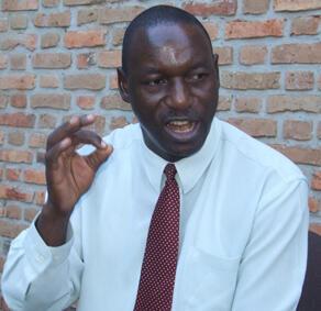 Le président de la Commission électorale nationale indépendante (CENI), Pierre Clavier Ndiayicariye.