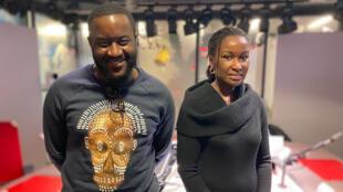 Olivier Mukiandi et Safietou Gueye
