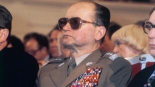 Le général Jaruzelski, le 7 mai 1983.