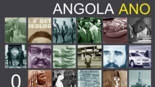 """Cartaz do documentário """"Angola Ano Zero"""""""