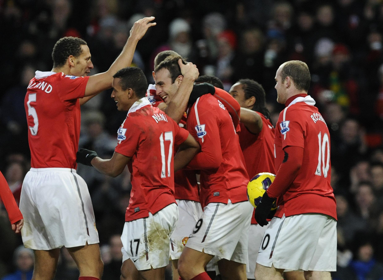 Vijana wa Manchester United.
