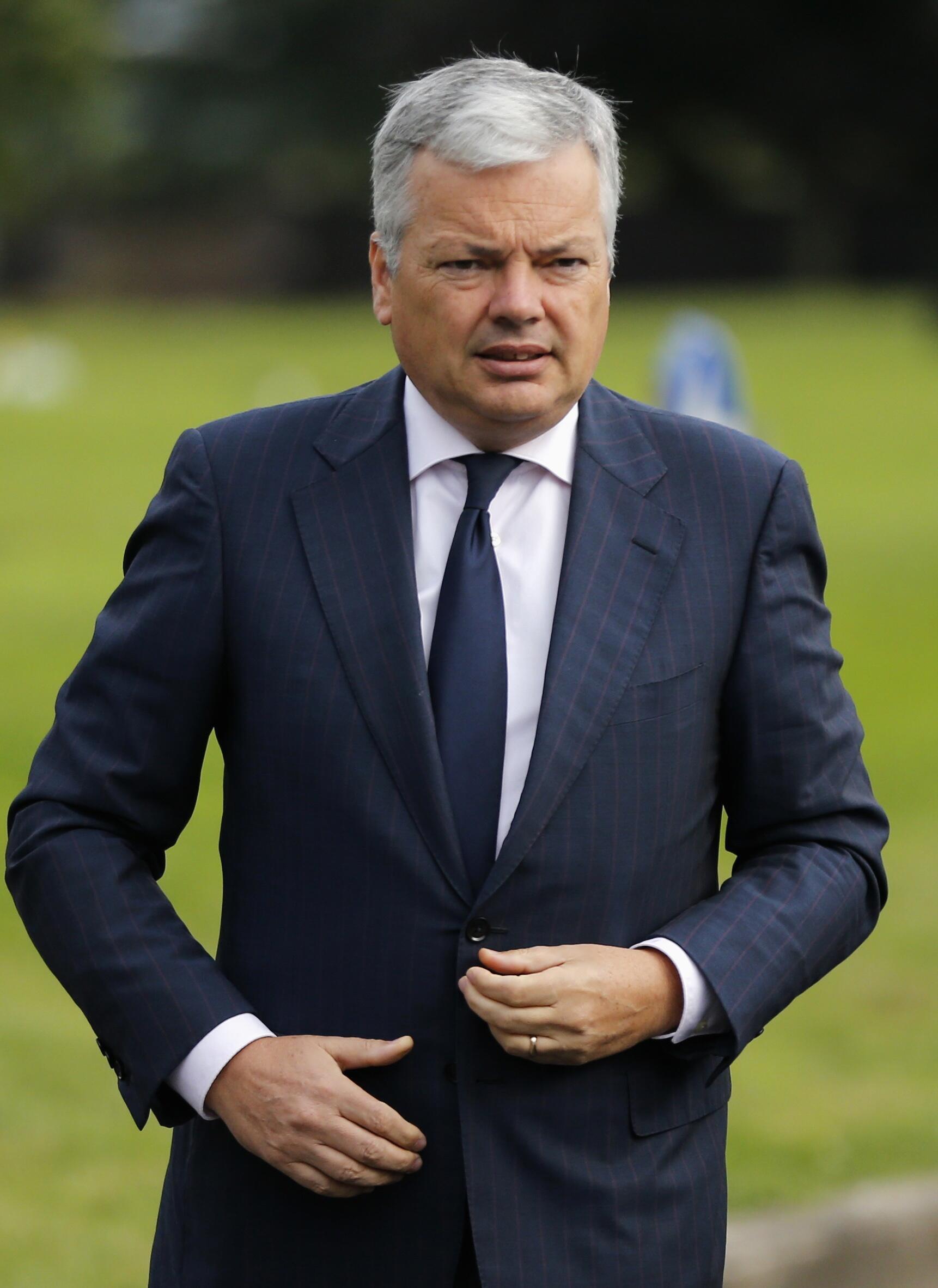 Le ministre belge des Affaires étrangères, Didier Reynders.