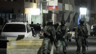 Soldados mexicanos.