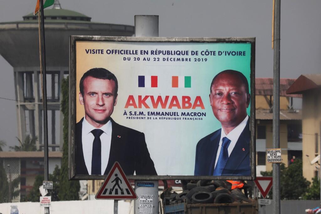 Dans les rues d'Abidjan, le 19 décembre 2019.