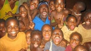 Children in Camerooon with Issa Nyaphaga