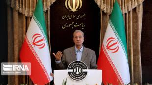 علی ربیعی سخنگوی دولت جمهوری اسلامی ایران