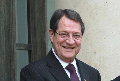 Chypre vient de sortir du plan d'aide internationale de 10 milliards d'euros, sans en avoir utilisé l'intégralité et deux mois plus tôt que prévu. <br>Photo : Nicos Anastasiades, président de la République de Chypre.</br>