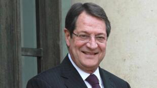 Nicos Anastasiades,Presidente da República de Chipre.