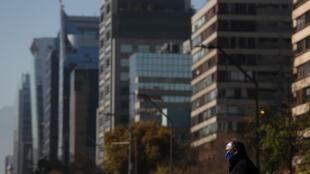 L'application So Safe est surtout suivie dans la capitale Santiago.