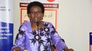 Uganda's Health Minister Dr. Jane Ruth Aceng