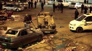 El distrito Biryulovo de Moscú fue escenario de graves disturbios.