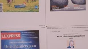 Semanários franceses  04 07 2020