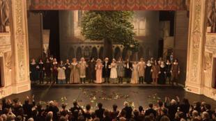 Scène tirée du film «Edmond», d'Alexis Michalik.