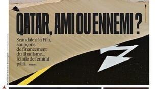 Capa do jornal francês Libération desta quinta-feira, 04 de junho de 2015