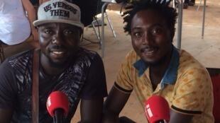 Wilfried Ouedraogo et Moussa Petit-Sergent.