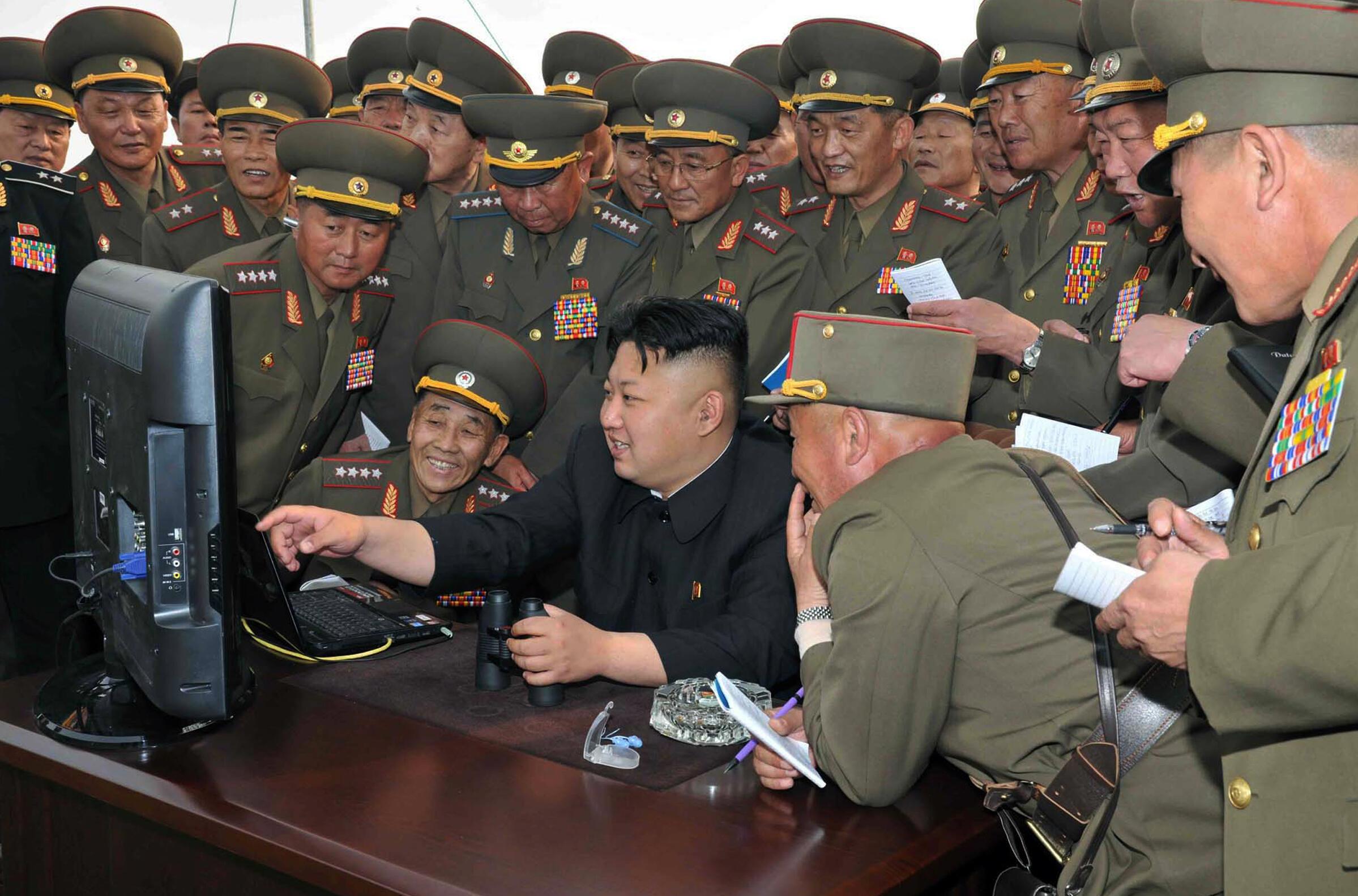 Kim Jong-un est l'un des rares nord-coréens à pouvoir accéder au web...