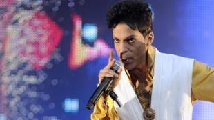 Prince en el Estadio de Francia, en junio de 2011.
