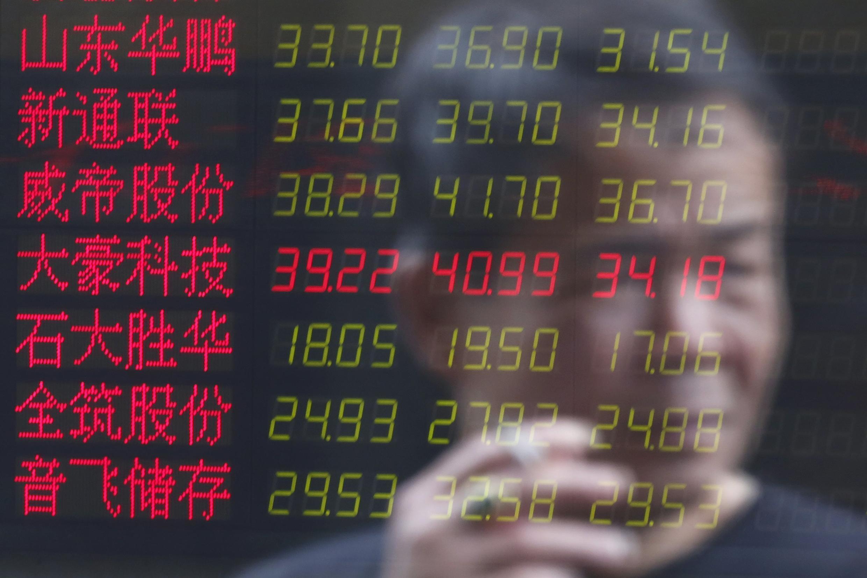 Cổ phiếu Trung Quốc sụt giảm đến 30% trong vòng có hai tuần.