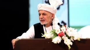 Ashraf Ghani, shugaban Afghanistan.