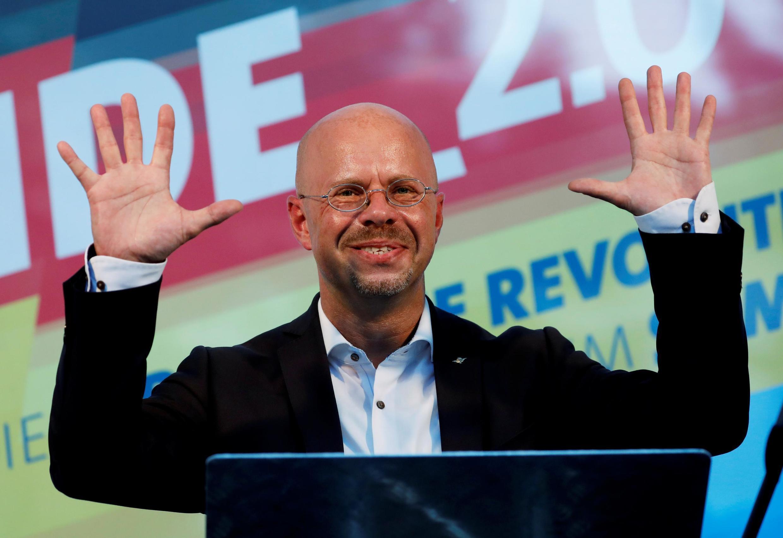 Andreas Kalbitz, candidato para la AfD en Brandeburgo.