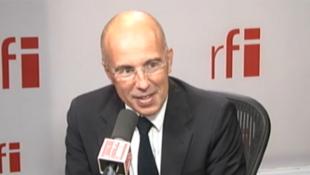 Eric Ciotti, député des Alpes Maritimes, dans les studios de RFI, ce 18 septembre 2012.