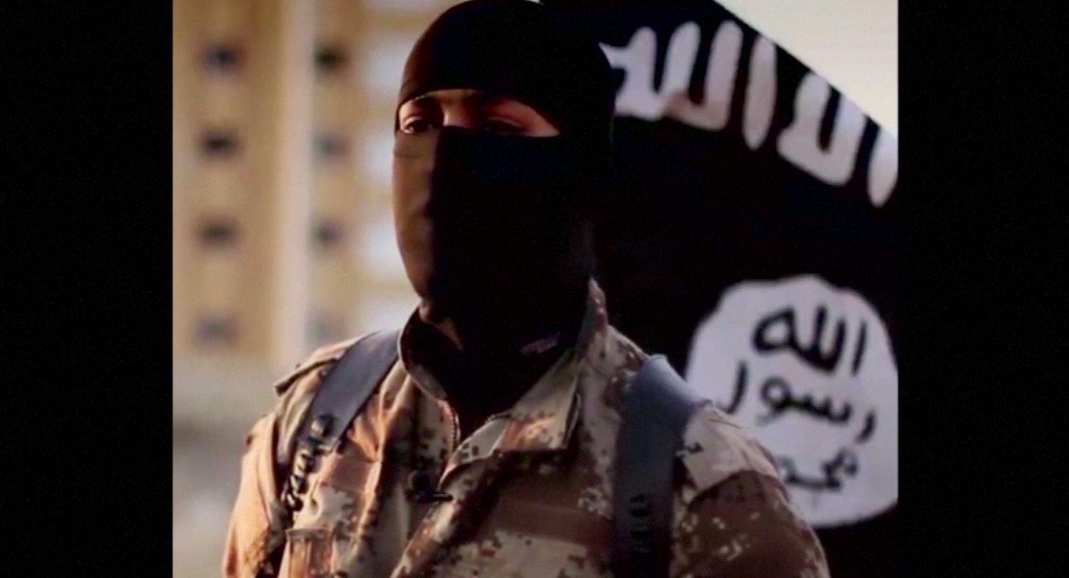 Một người nói giọng Bắc Mỹ đại diện cho tổ chức Nhà nước Hồi giáo. Video phổ biến hồi tháng 9/2014.