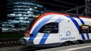 Dimanche, les trains sont partis d'Annemasse (Haute-Savoie) sans retard, mais ils étaient peu nombreux au départ dans un contexte de grève des cheminots contre la réforme des retraites.