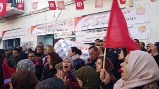 Maandamano ya umma nchini Tunisia mwaka 2011