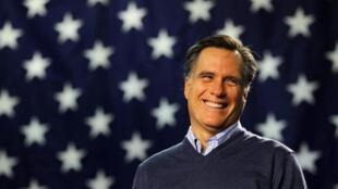 Le candidat Mitt Romney est pour l'instant le favori des sondages.
