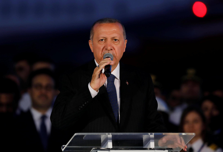 O presidente Recep Erdogan disputa novo mandato com poderes reforçados pela revisão constitucional de 2017.