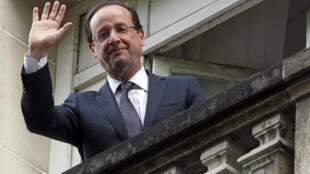 Tổng thống tân cử  Pháp François Hollande 07/05/2012 (REUTERS)