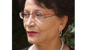 Souhayr Belhassen, présidente sortante de la FIDH.
