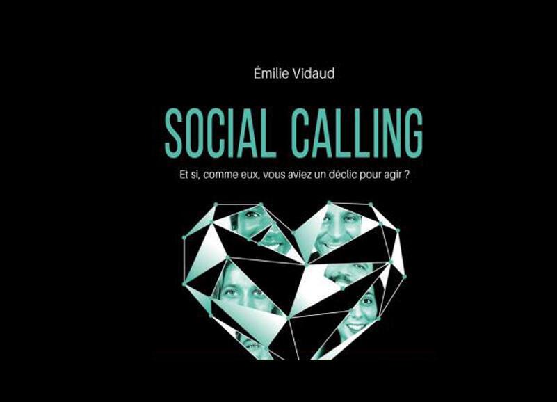 «Social calling» un livre d'Émilie Vidaud.