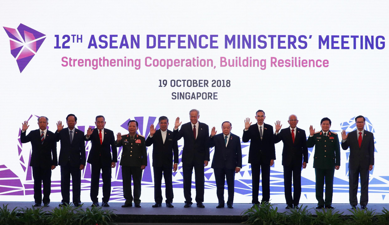 Hội Nghị Bộ trưởng Quốc Phòng ASEAN tại Singapore ngày 19/10/2018.