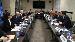 Mercredi 16 mars, le «groupe de Moscou»,  délégation très contestée a été reçue par Staffan de Mistura, le médiateur de l'ONU.