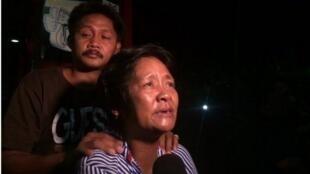 Pais de Mary Jane Veloso agradecem pela soltura da filha.