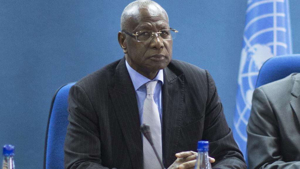 Abdoulaye Bathily à Bujumbura le 23 juin 2015.
