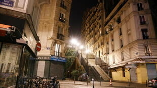 Curfew Paris Montmartre