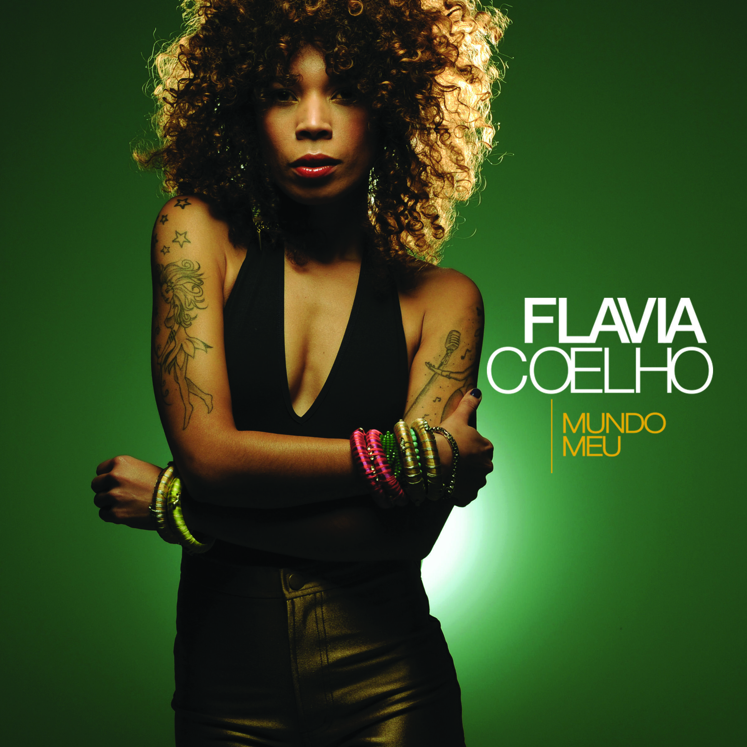 La chanteuse brésilienne Flavia Coelho.
