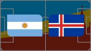 Coupe du monde 2018: Vivez Argentine - Islande en direct