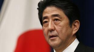 Tân Thủ tướng Nhật Bản Shinzo Abe.