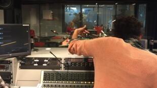 Studio ya Idhaa ya Kimandingue ya RFI.