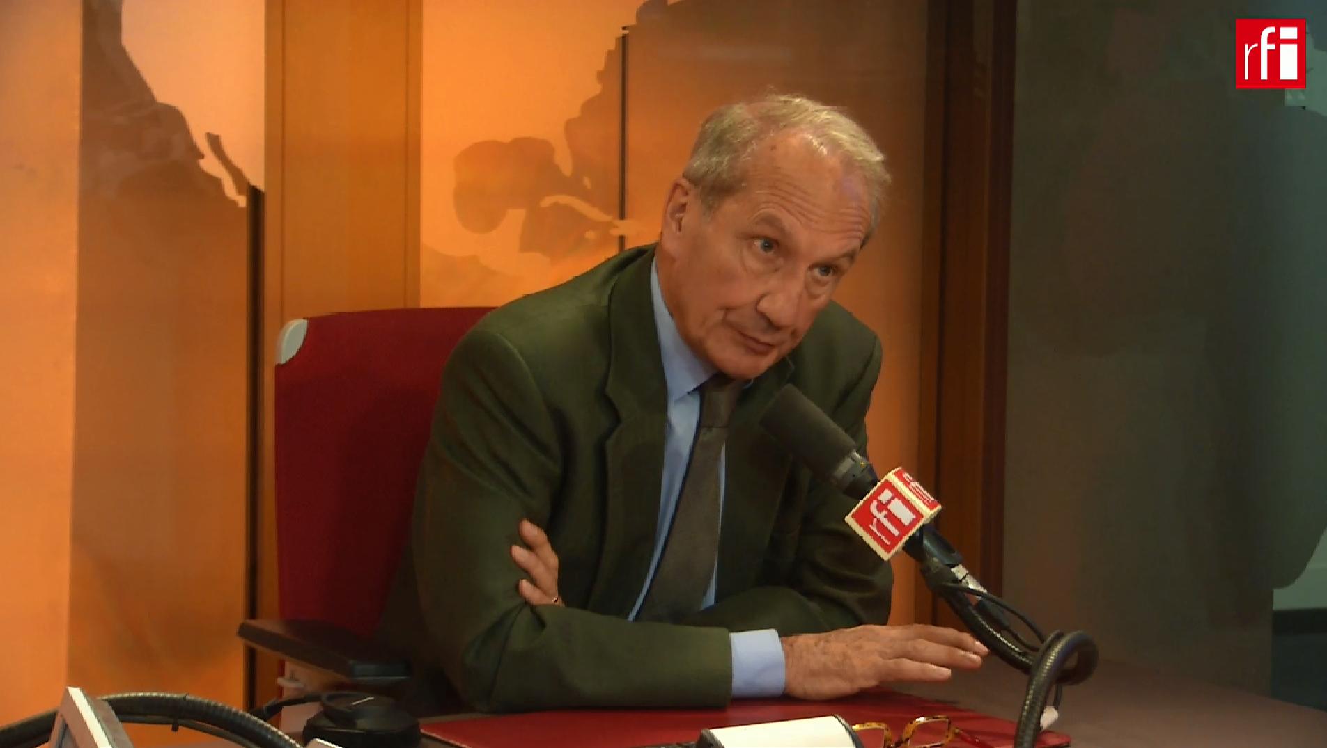 Gérard Longuet sur RFI le 11 juillet 2018.
