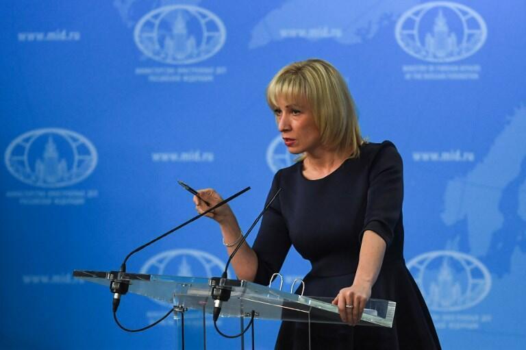О том, что Россия присоединилась к ответным санкциям Беларуси против ЕС, заявила 2 октября 2020 года официальный представитель МИД РФ Мария Захарова.