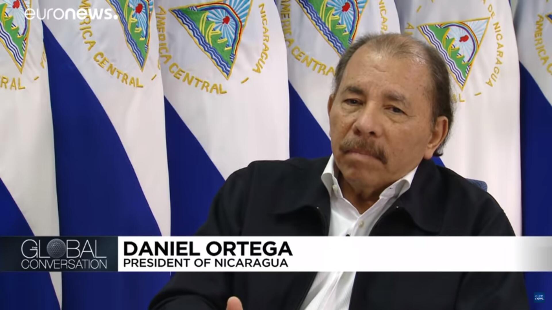Daniel Ortega acepta por primera vez la existencia de grupos paramilitares dirigidos por su gobierno.